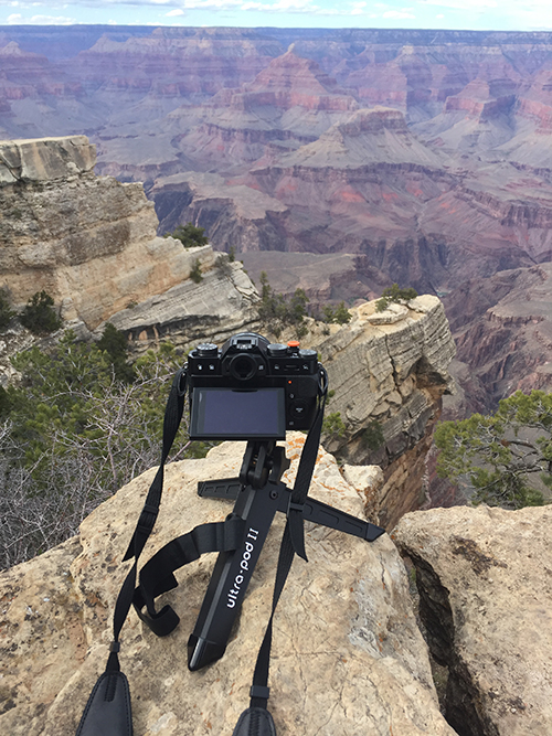 Ultrapod at Grand Canyon